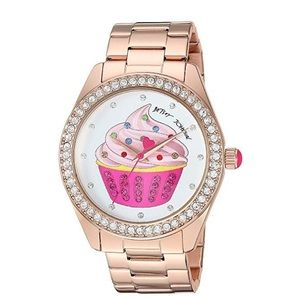 Betsey Johnson Cupcake Watch